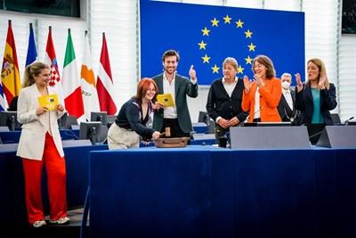 EYE2021 бе кулминацията в процеса на младежки консултации в ЕП за Конференцията за бъдещето на Европа, започнали през май.