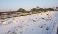 "Брашно покри автомагистрала ""Хемус"" до Провадия (Снимка)"