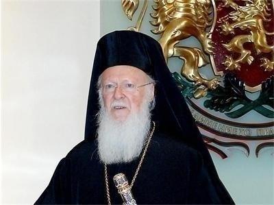 Вселенският патриарх Вартоломей  СНИМКА: Ройтерс