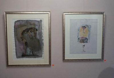 Ранни твори на Михаил Симеонов, включени в изложбата СНИМКА: Десислава Кулелиева