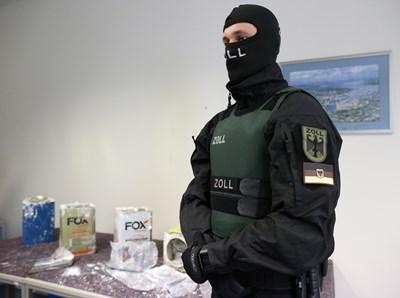 Пратка от над 23 тона кокаин бе заловена в Германия и Белгия - рекорд за Европа СНИМКИ: Ройтерс