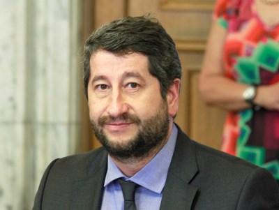 Председателят на парламентарната група на ДБ Христо Иванов