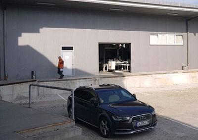 Незаконната сграда в имота  на българската компания.