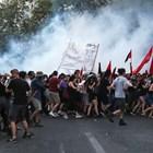 Насилие избухна вГърция срещу нов закон за протестите Снимки: Ройтерс