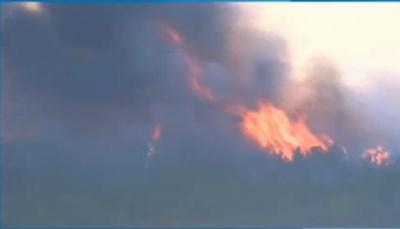 Пожар в Хасковско Кадър: БНТ