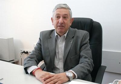 Иван бойков - изпълнителен директор на Камарата на строителите  СНИМКА: