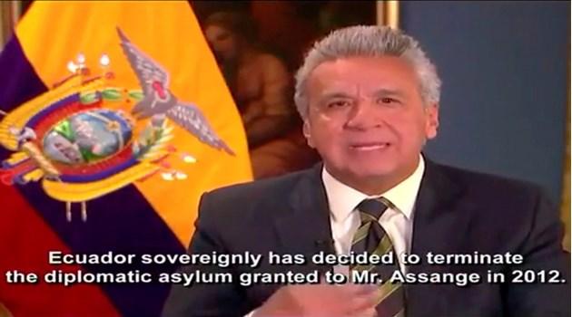 Президентът на Еквадор обвинява Асанж, че се държал зле в посолството в Лондон. Адвокатка: Лъжа е