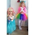 Мария и Наси са Малкото пони и Елза
