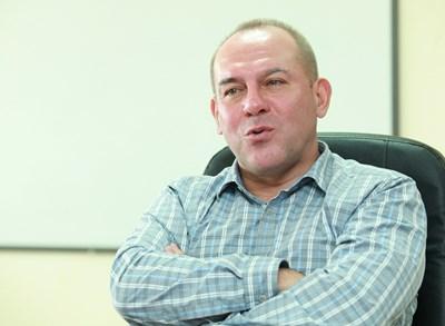 """Изпълнителният директор на """"Хиполенд"""" Мариан Колев"""
