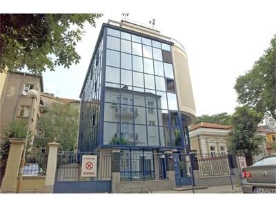 """Сградата в София, в която е офисът на """"Булгаргаз""""."""