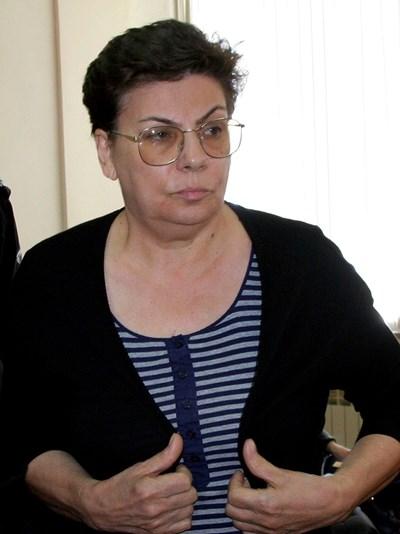 Иванка Ройдова е обвинена в поръчителство за убийство на брат си и петима членове на семейството му СНИМКА: Наташа Манева
