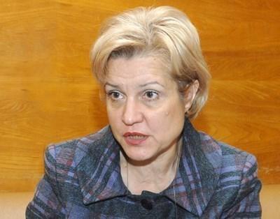 Вносителят на законопроекта Менда Стоянова СНИМКА: Архив
