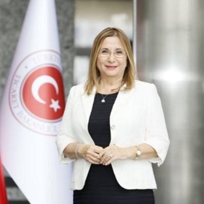Турската министърка на търговията Рухсар Пекджан СНИМКА: туитър/pekcan