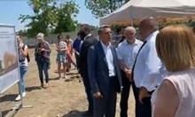 Борисов на първата копка на сградата на българския суперкомпютър (Видео, обновена)