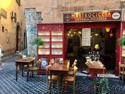 Ресторантите в Рим са празни. СНИМКИ: АВТОРЪТ