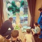 Уейн Рууни посреща рождения ден у дома