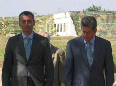 Ден по-рано държавният глава бе на военно учение в Шабла.  СНИМКА: ЦАНКО ЦАНЕВ