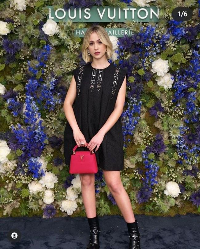 """Българката на представянето на новата колекция луксозни бижута на """"Луи Вюитон"""" в Монако"""