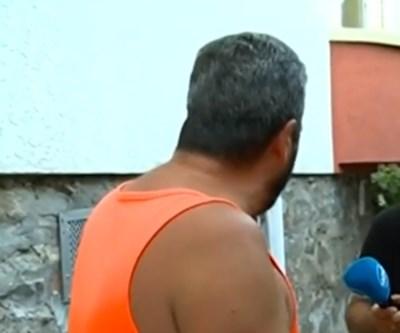 Бащата на падналото дете в Пловдив КАДЪР: Нова тв
