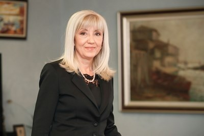 Министърът на регионалното развитие и благоустройството Петя Аврамова СНИМКА: Архив