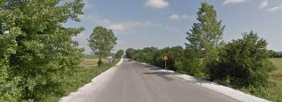 Пътят Радко Димитриево - Ивански СНИМКА: Google Street View