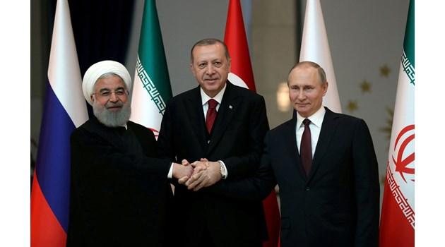 """""""Сабах"""": Ердоган и Путин разплитат възела"""
