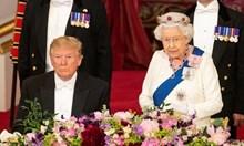 Остра критика на кралица Елизабет II към Доналд Тръмп: Хеликоптерите му съсипаха тревата пред Бъкингамския дворец. Кацаха по два пъти на ден