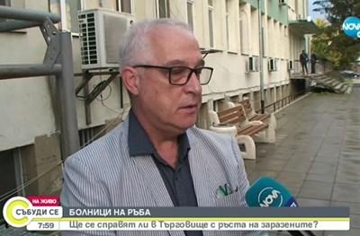 Д-р Иван Светулков. Кадър Нова тв