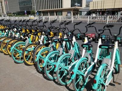Пекин ще ограничи споделените велосипеди в центъра на града