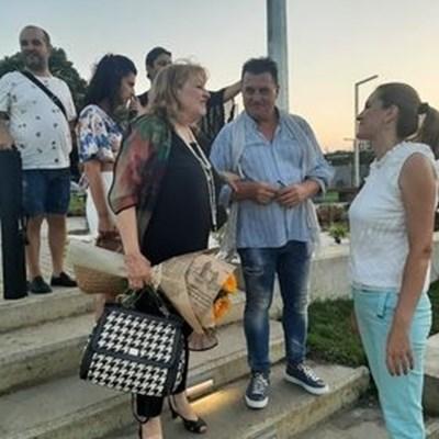 Богдана Карадочева в Лозенец Снимки и видео: Тони Щилянова