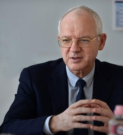 Васил Велев, ротационен председател на работодателските организации СНИМКА: Йордан Симеонов