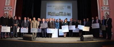 """През януари университетите, които са първи по професионално направление според рейтинга, получиха награди на церемония, организирана от """"24 часа"""". СНИМКА: Румяна Тонева"""