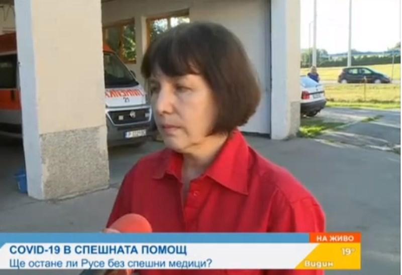 Д-р Иванка Маринова, директор на Спешния център Кадър: БНТ
