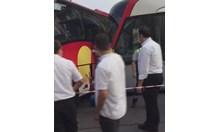 Български автобус катастрофира в Истанбул (Видео)