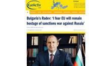 Губим от санкциите срещу Русия