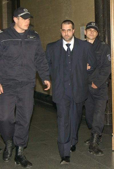 """Пеньо Мангъров в съда през 2013 г.  СНИМКА: """"24 ЧАСА"""""""