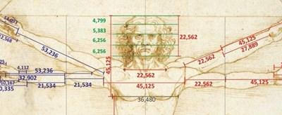 Рисунката на гения крие алгоритъма, използван от художници и архитекти в продължение на векове.