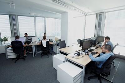 IT секторът също пострада от пандемията, но почти всички компании очакват ръст на бизнеса си до 12 месеца. СНИМКА: Архив