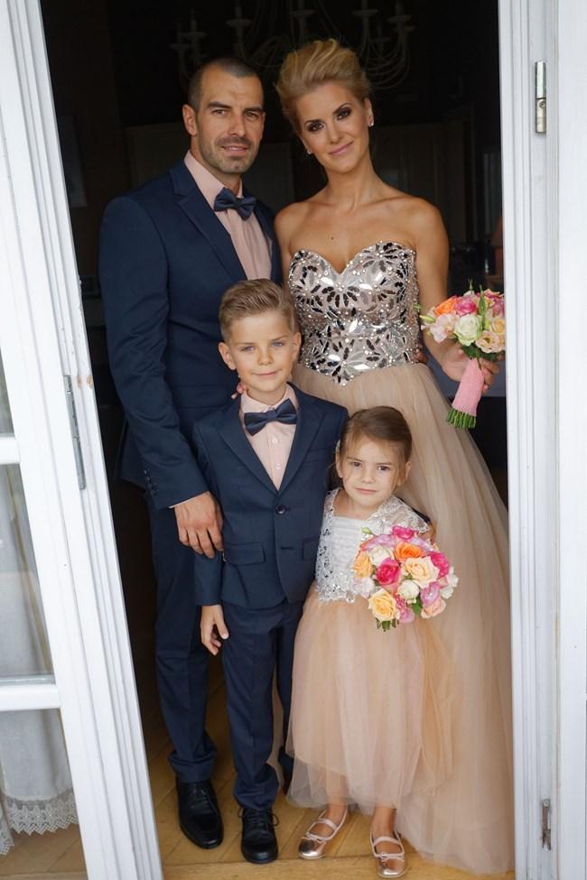 Семейство Пресолски на втората си сватба