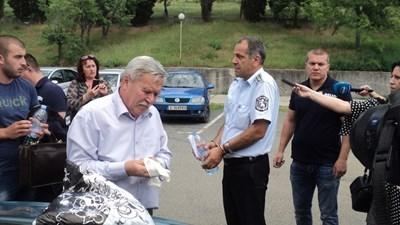 Арестуваният шеф на КАТ-Благоевград  СНИМКА: Авторката