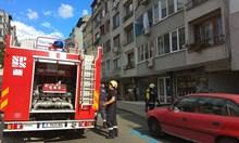 При пожар млад мъж се опита да се спусне по терасите, но падна и загина