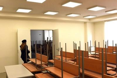 В новия корпус на Националната художествена академия има 16 ателиета и 3 лекторски зали. СНИМКА: Велислав Николов