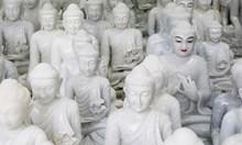 Майстори на мрамора в Мианмар