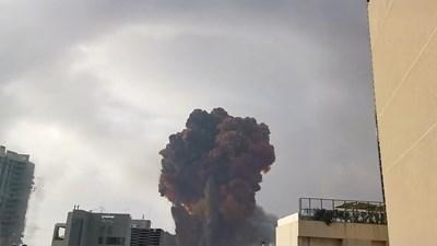 Взривът в Бейрут СНИМКА: Ройтерс