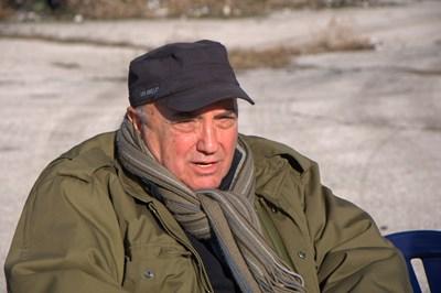 Режисьорът Иван Ничев по време на снимките на филма