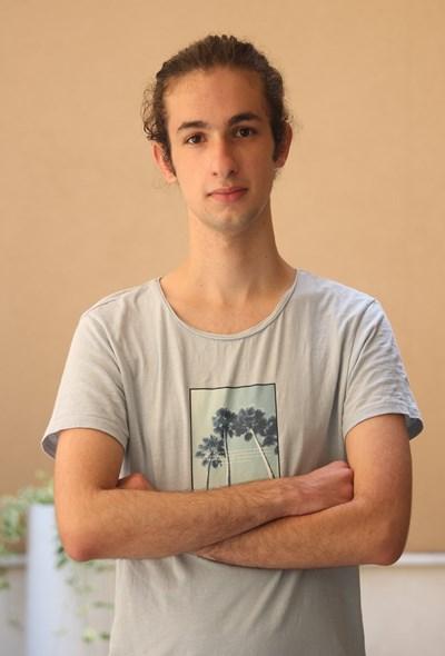 """Дамян иска да продължи обучението си в """"Оксфорд"""" с химия. СНИМКА: Николай Литов"""