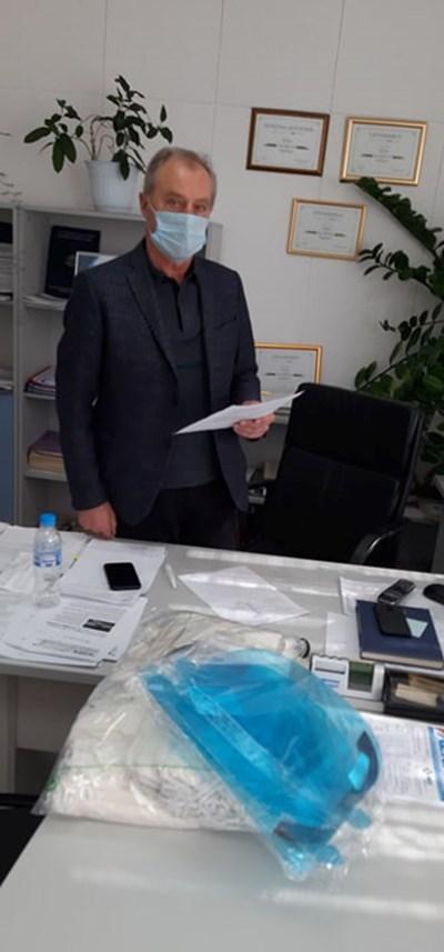 Д-р Тодоров СНИМКА: Авторката