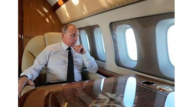 Виж как 15-годишен ученик засне самолета на Путин отвътре. Президентът сбъднал мечтата на момчето (Видео)