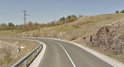Пътят Кърджали - Комотини СНИМКА: Google Street View