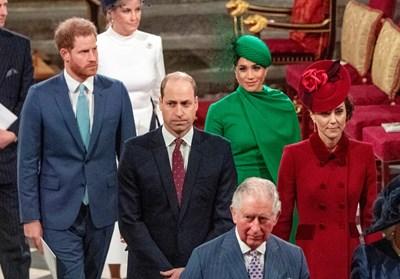 Принц Хари и Меган Маркъл при последния си официален ангажимент с кралското семейство СНИМКИ: Ройтерс